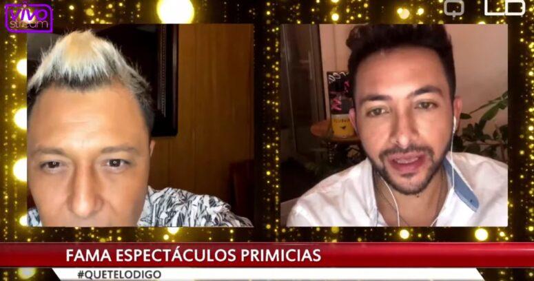 El video de Nelson Mauri que se coló en plena transmisión del programa de Hugo Valencia y Sergio Rojas