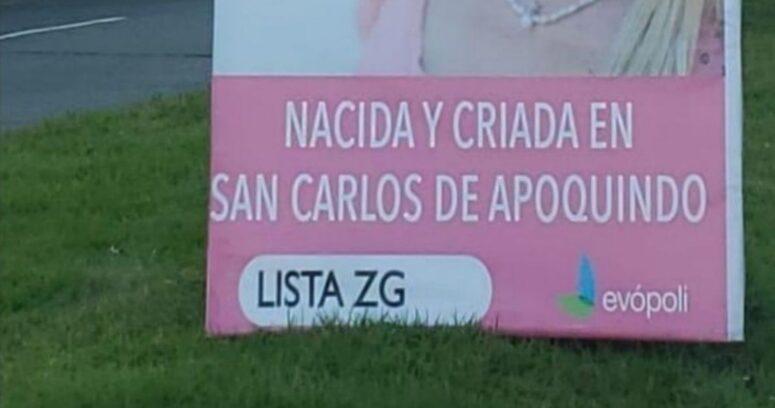 """Ola de memes por candidata de Evópoli que se promociona como """"nacida y criada"""" en San Carlos de Apoquindo"""