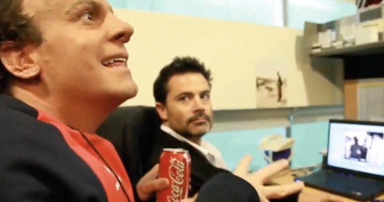 Stefan Kramer recordó a Felipe Camiroaga con inédito video de la época de Halcón y Camaleón