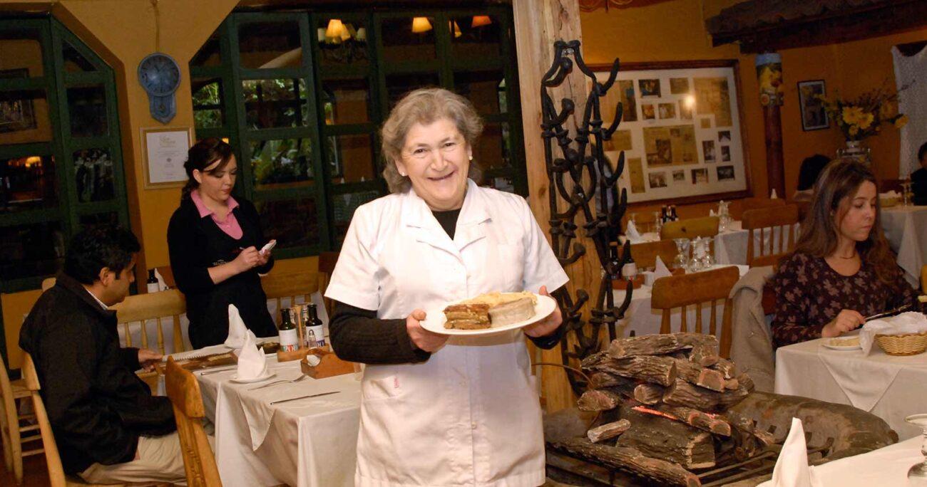 Doña Tina dejó el restaurant en 2019 por complicaciones a su salud (Archivo Doña Tina)