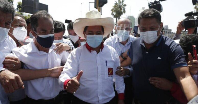 Perú: denuncian amenazas de muerte contra candidato presidencial Pedro Castillo
