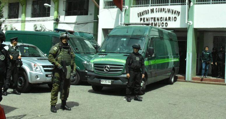 """""""Gendarmería confirmó brote de COVID-19 en cárcel de Temuco: 111 internos contagiados"""""""