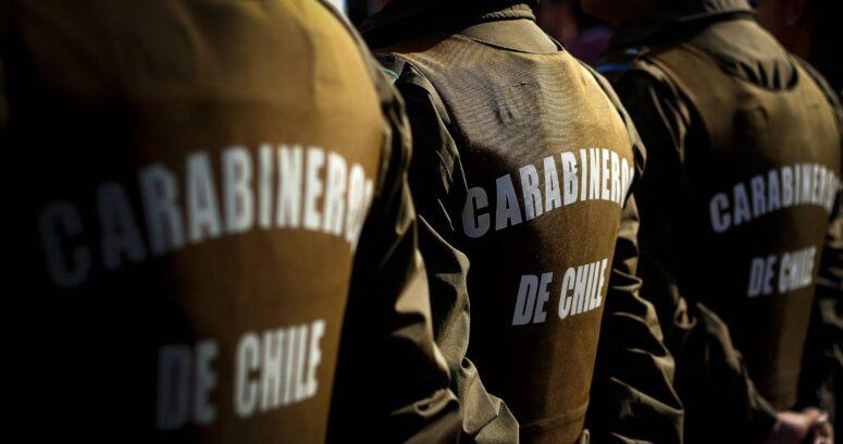 Carabineros hará sumario a funcionarios involucrados en fiesta clandestina