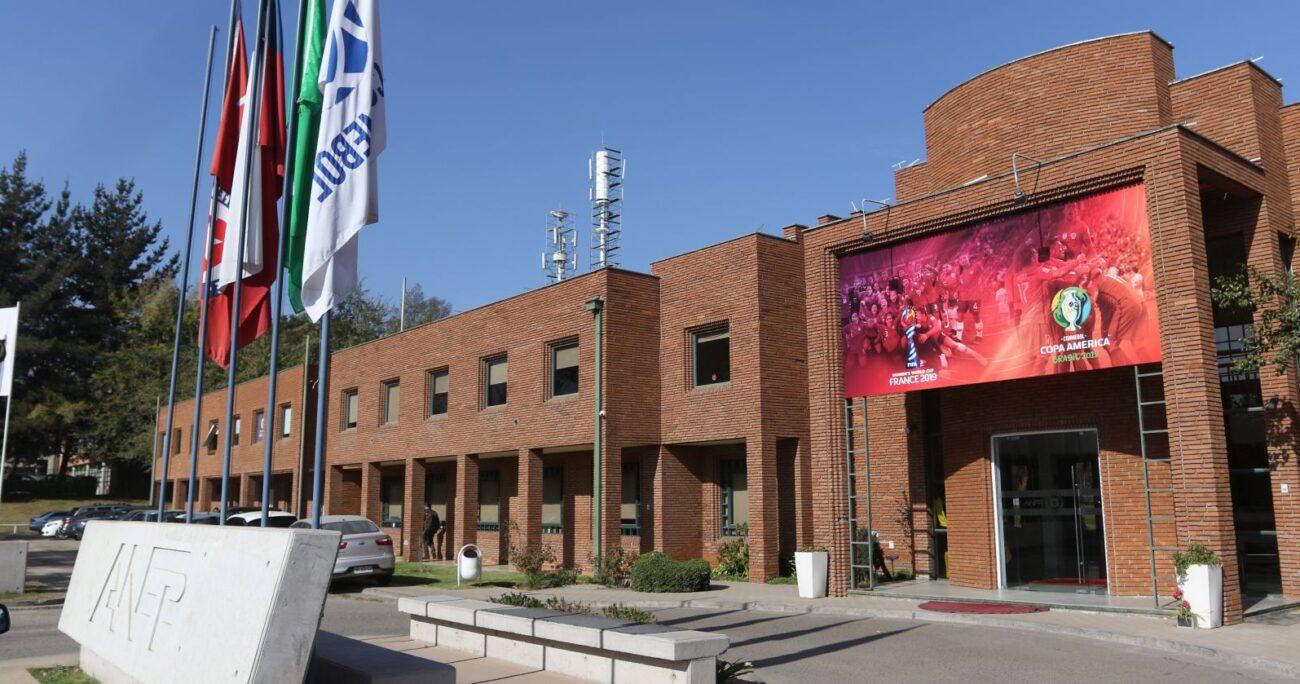 La sede de la ANFP en Quilín. AGENCIA UNO/ARCHIVO