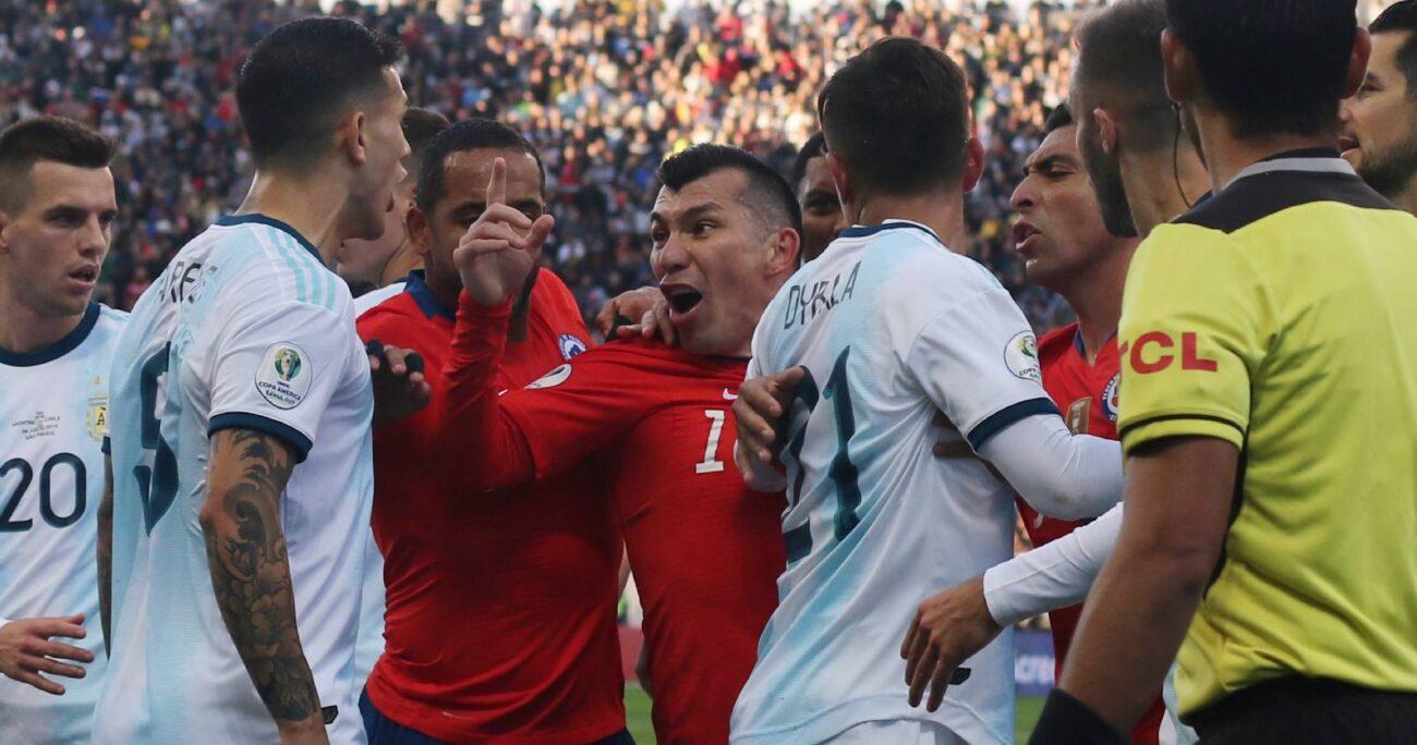 El hecho habría ocurrido en el duelo por el tercer y cuarto lugar en Copa América 2019. AGENCIA UNO/ARCHIVO