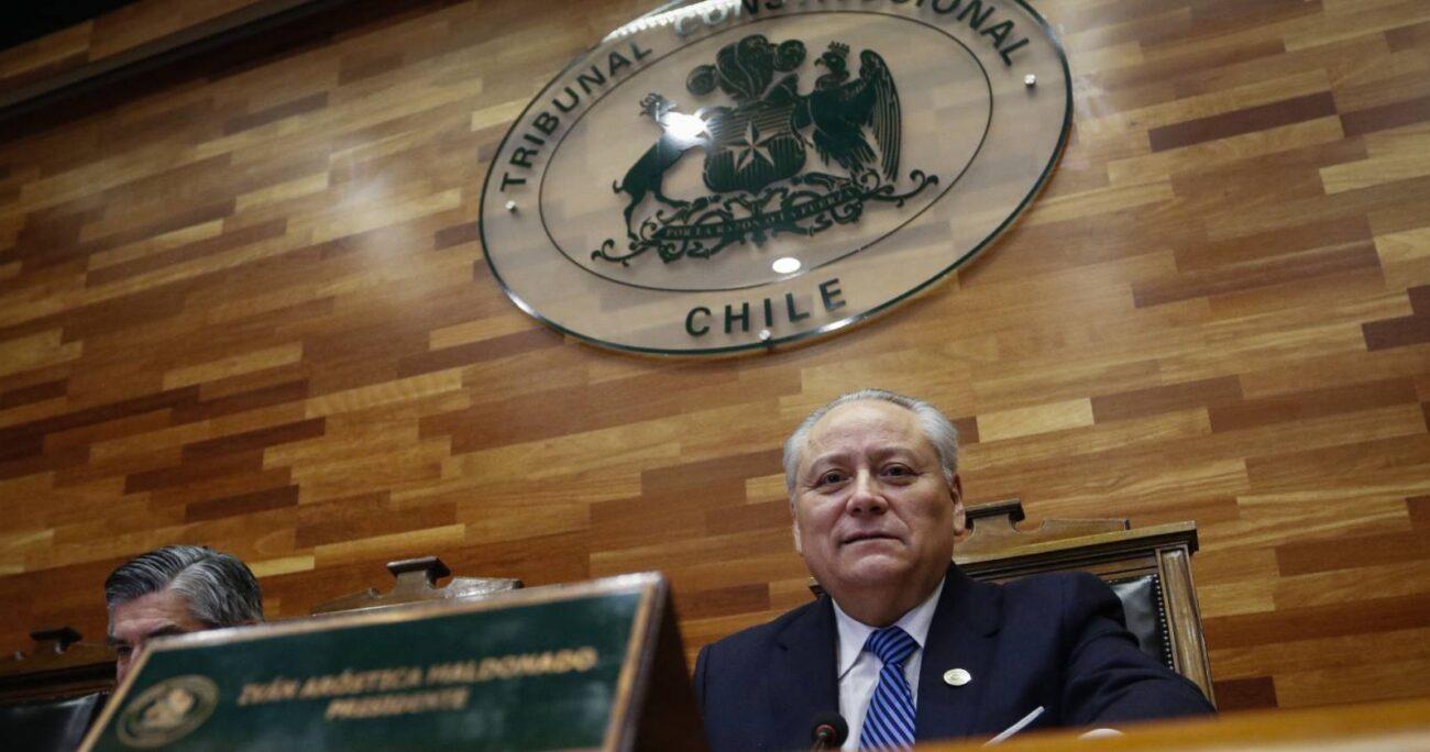 Iván Aróstica fue nombrado en 2010 por Sebastián Piñera en el Tribunal Constitucional en reemplazo de José Luis Cea. AGENCIA UNO/ARCHIVO