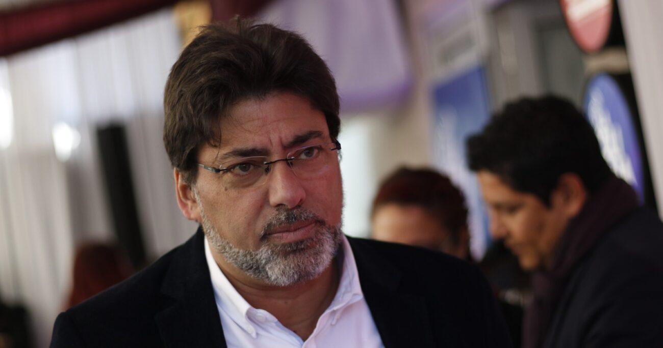 Daniel Jadue también arremetió contra Gabriel Boric y alegó que no logra obtener apoyo en las encuestas. AGENCIA UNO/ARCHIVO
