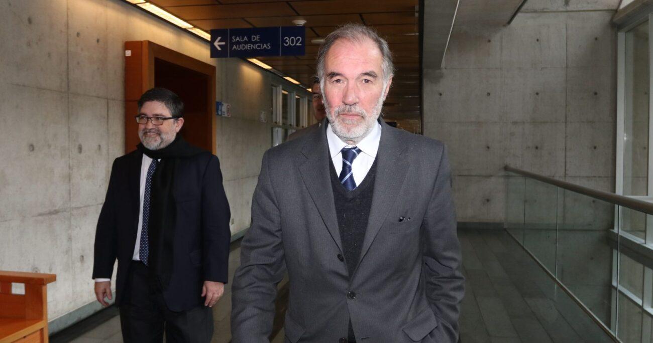El abogado Sergio Rodríguez Oro presentó un recurso para dejar sin efecto la sentencia en contra del ex senador UDI. AGENCIA UNO/ARCHIVO
