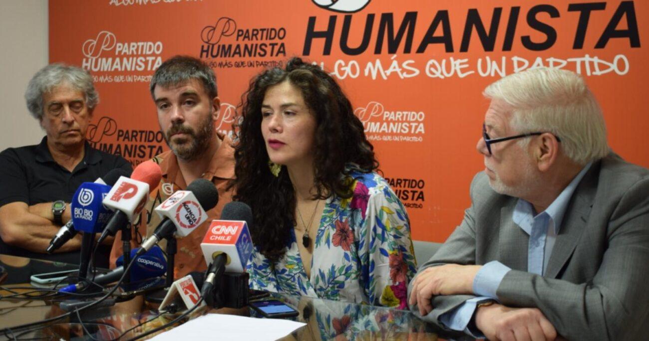 El Partido Humanista renunció al Frente Amplio en 2019. AGENCIA UNO/ARCHIVO