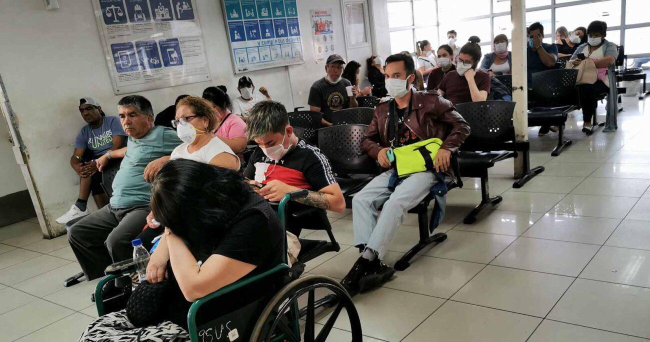 Sala de espera de Urgencia del Hospital Salvador (Agencia UNO/Archivo).