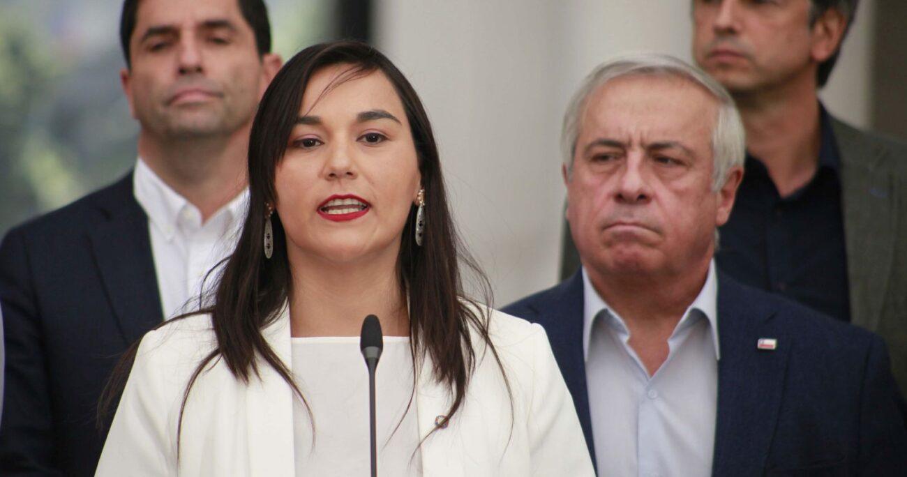 La dirigenta abordó los dichos del ex ministro en Tolerancia Cero. AGENCIA UNO/ARCHIVO