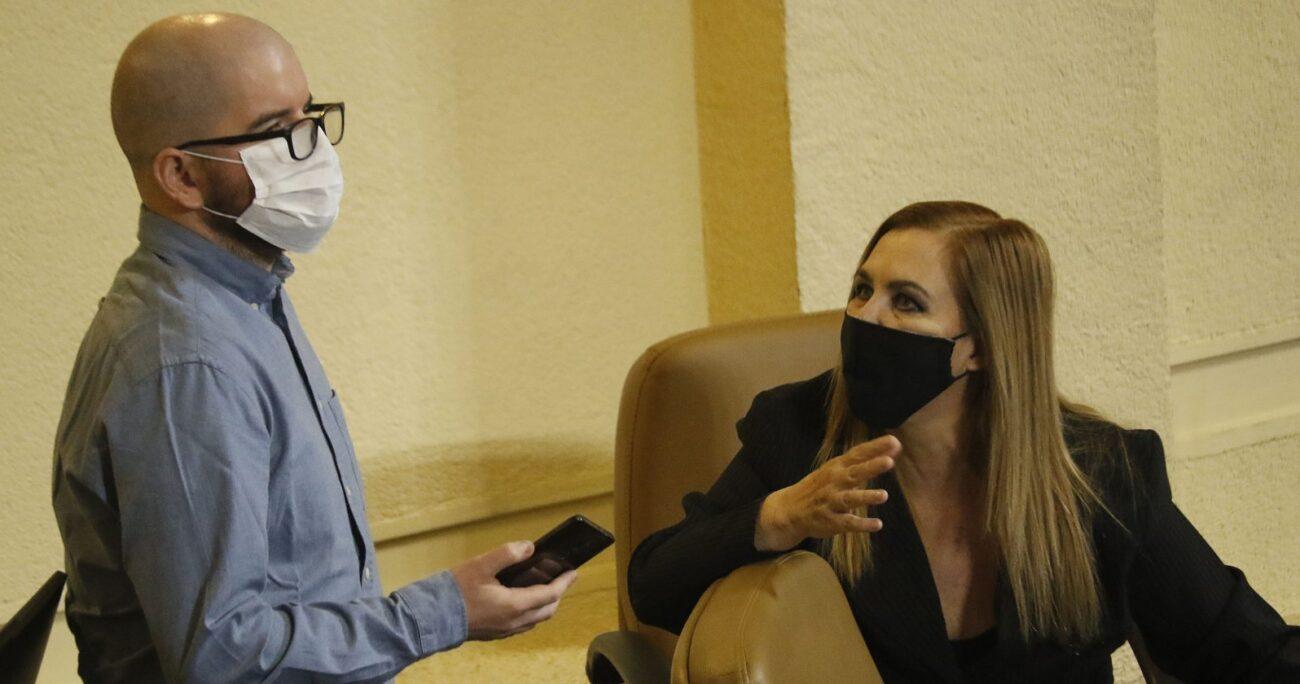 En la previa, Beatriz Sánchez cerró la puerta a hacer primarias con Jiles y la comparó con Donald Trump. AGENCIA UNO/ARCHIVO