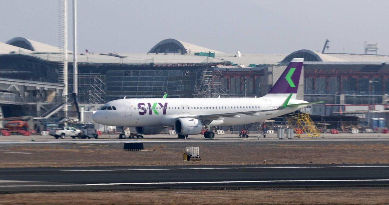 SKY suspenderá sus vuelos internacionales durante abril