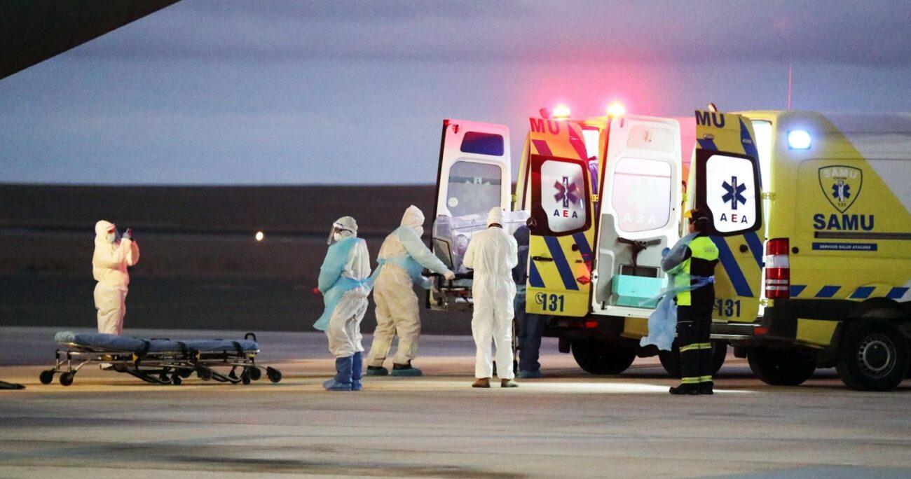 Las autoridades también informaron que hay más de 3 mil personas hospitalizadas. (Agencia UNO/Archivo)
