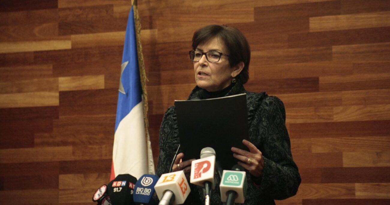 Bianchi cuestionó el rol de Brahm como ex jefa de asesores del segundo piso de La Moneda durante el primer Gobierno de Piñera. AGENCIA UNO/ARCHIVO
