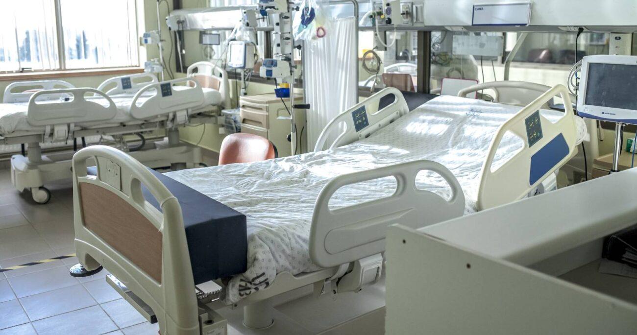 Sala del Hospital Base San José de Osorno (Agencia UNO/Archivo).