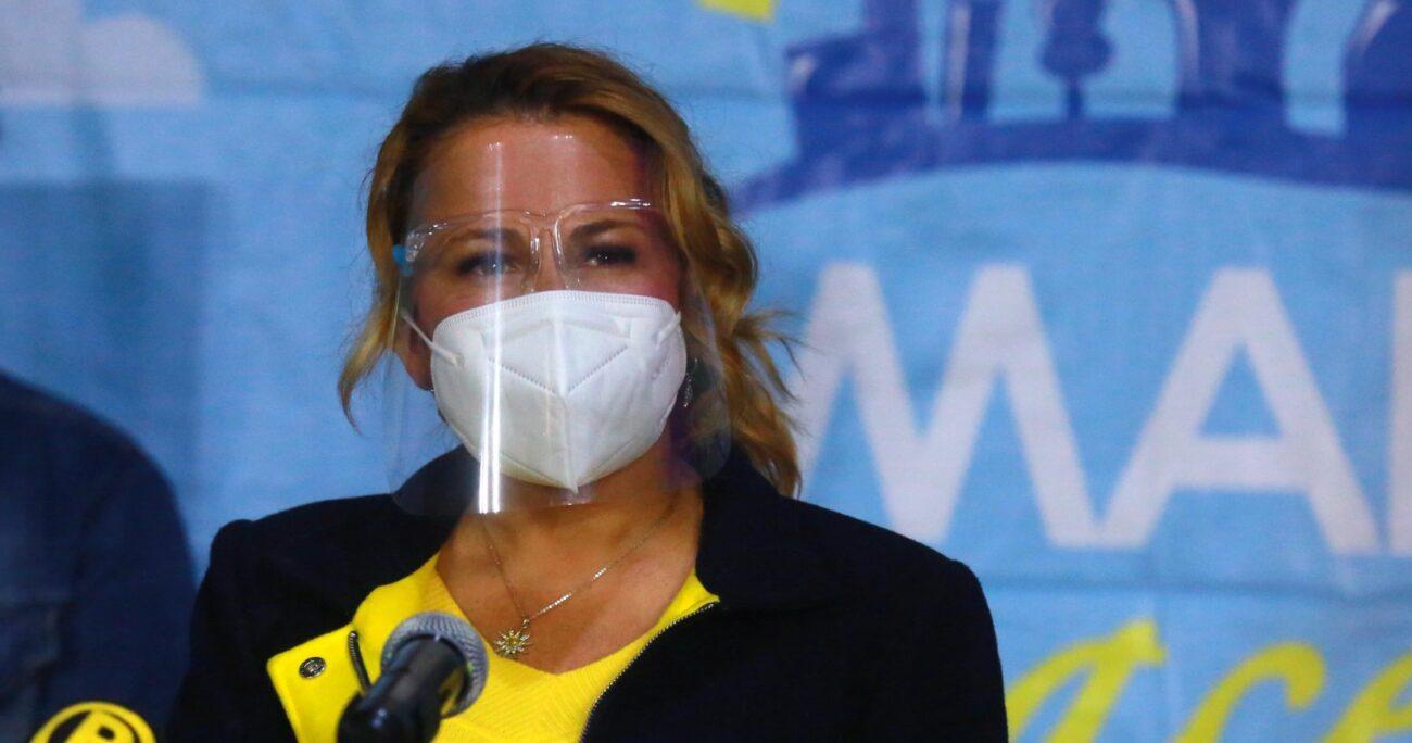 La alcaldesa afirmó que la denuncia de Mucho Gusto le recordó a su pasado televisivo. AGENCIA UNO/ARCHIVO