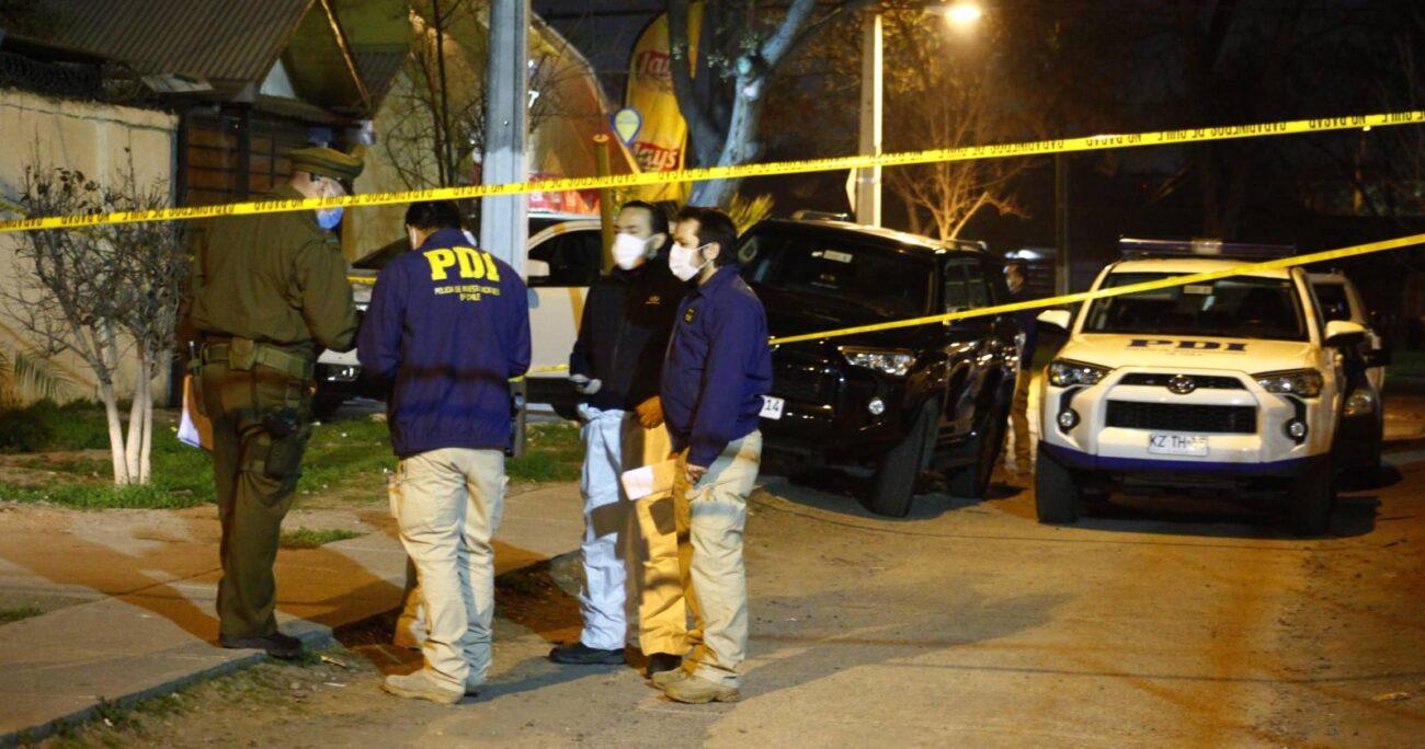 El Ministerio Público ordenó a la Brigada de Homicidios de la PDI llevar a cabo las indagatorias. AGENCIA UNO/ARCHIVO