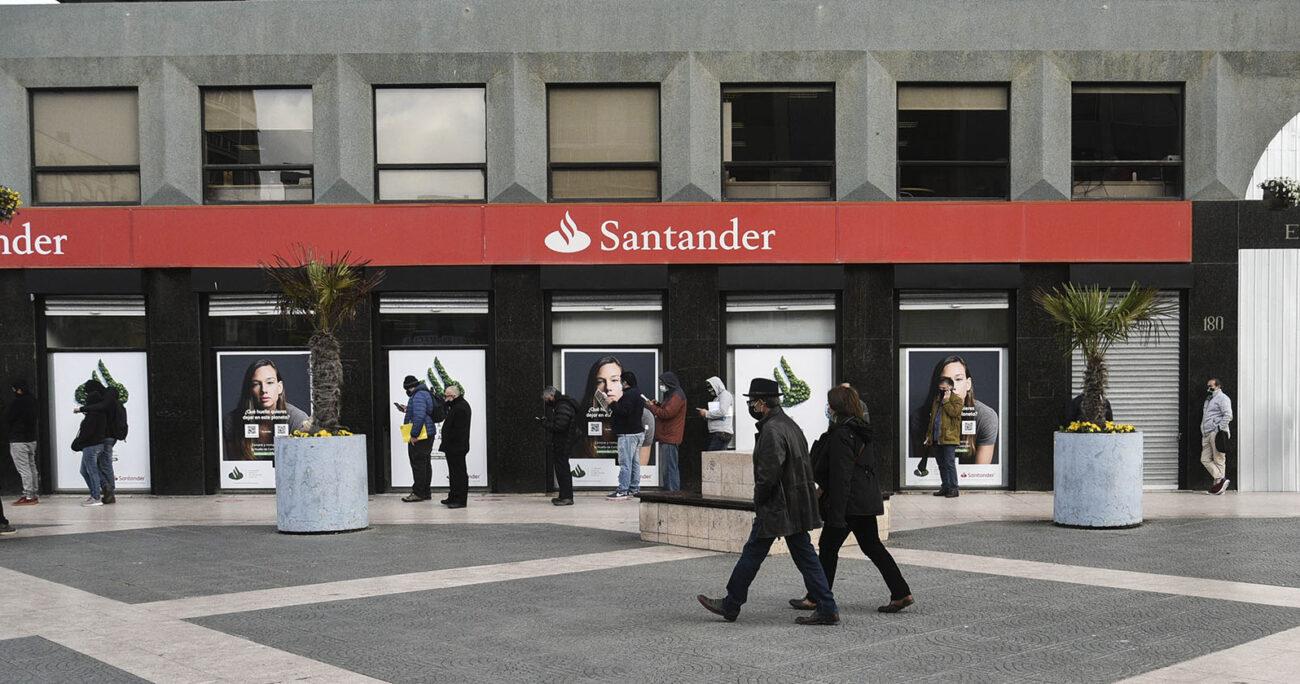 La robusta oferta digital de Santander está compuesta por Life, Superdigital, Klare, Getnet y Autocompara. AGENCIA UNO/ Archivo