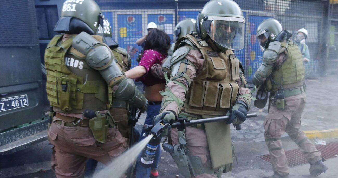 En cuanto a las escopetas antidisturbios, se detalló que todo el personal que la usa cuenta con la videocámara corporal. Foto: Agencia UNO/Archivo