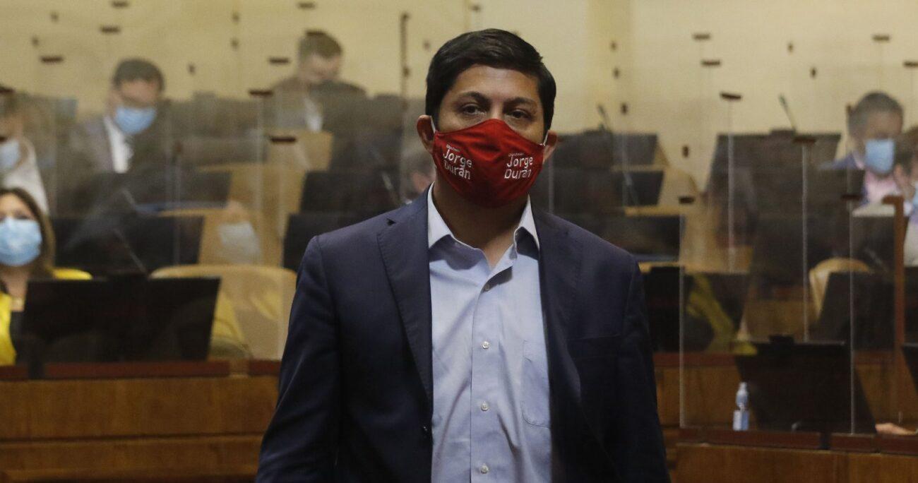 Jorge Durán, ante el fracaso del Gobierno en el TC, culpó a Cristián Larroulet. AGENCIA UNO/ARCHIVO