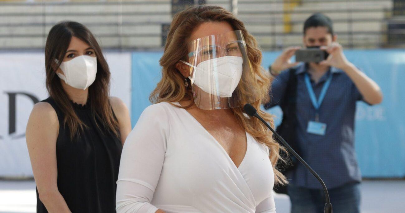 Paulina de Allende-Salazar aclaró en Mega que intentaron ponerse en contacto con Cathy Barriga. AGENCIA UNO/ARCHIVO