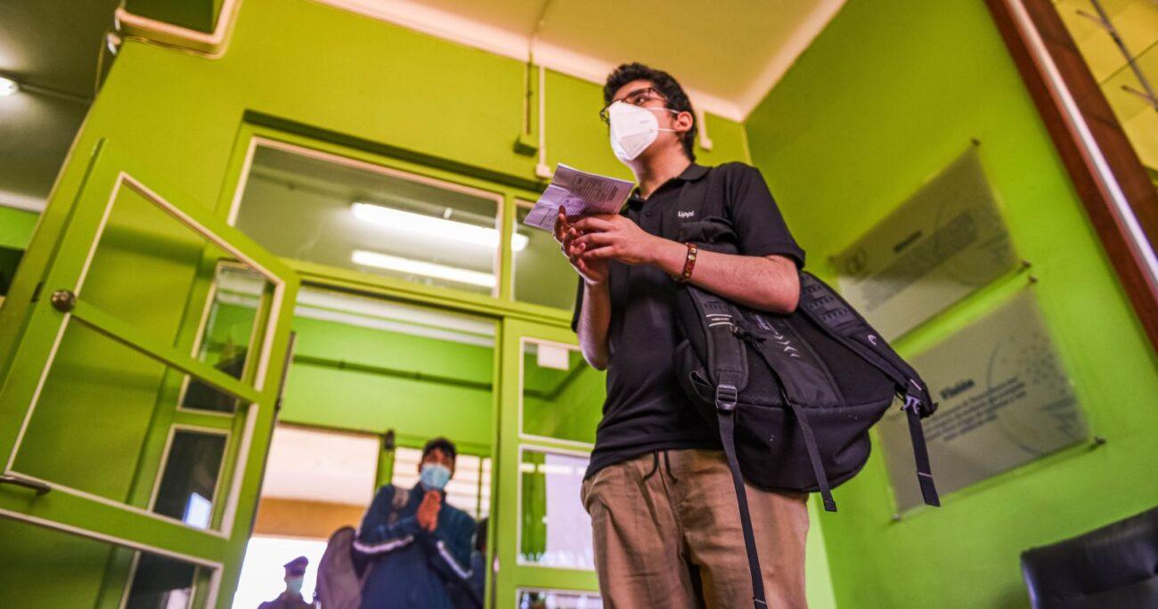 Las autoridades informaron que los estudiantes beneficiados alcanzaron los 140 mil. AGENCIA UNO/ARCHIVO