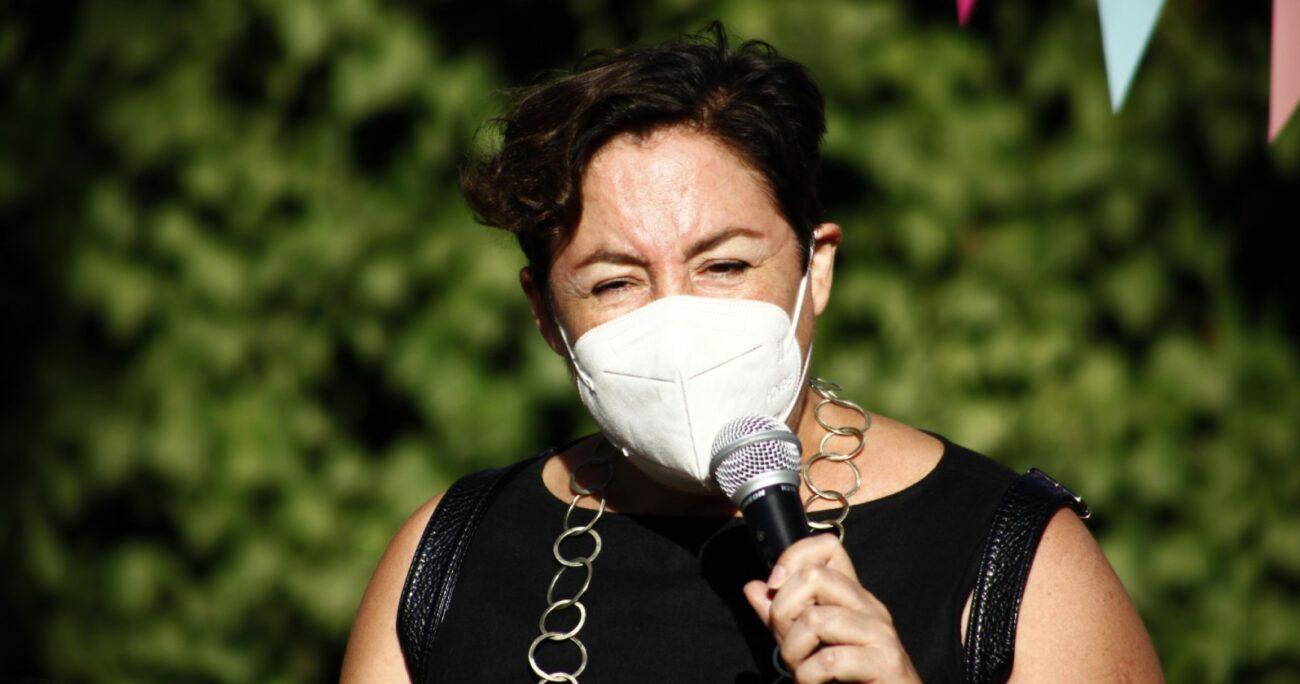 Beatriz Sánchez se sumó a las críticas contra el ministro Figueroa y recalco su desaparición de la opinión pública. (Agencia UNO/Archivo).