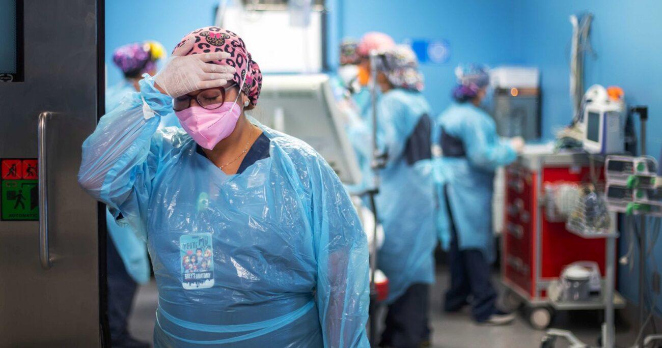 La encuesta se conoció en medio de uno de los peores momentos de la pandemia. (Agencia UNO/Archivo)