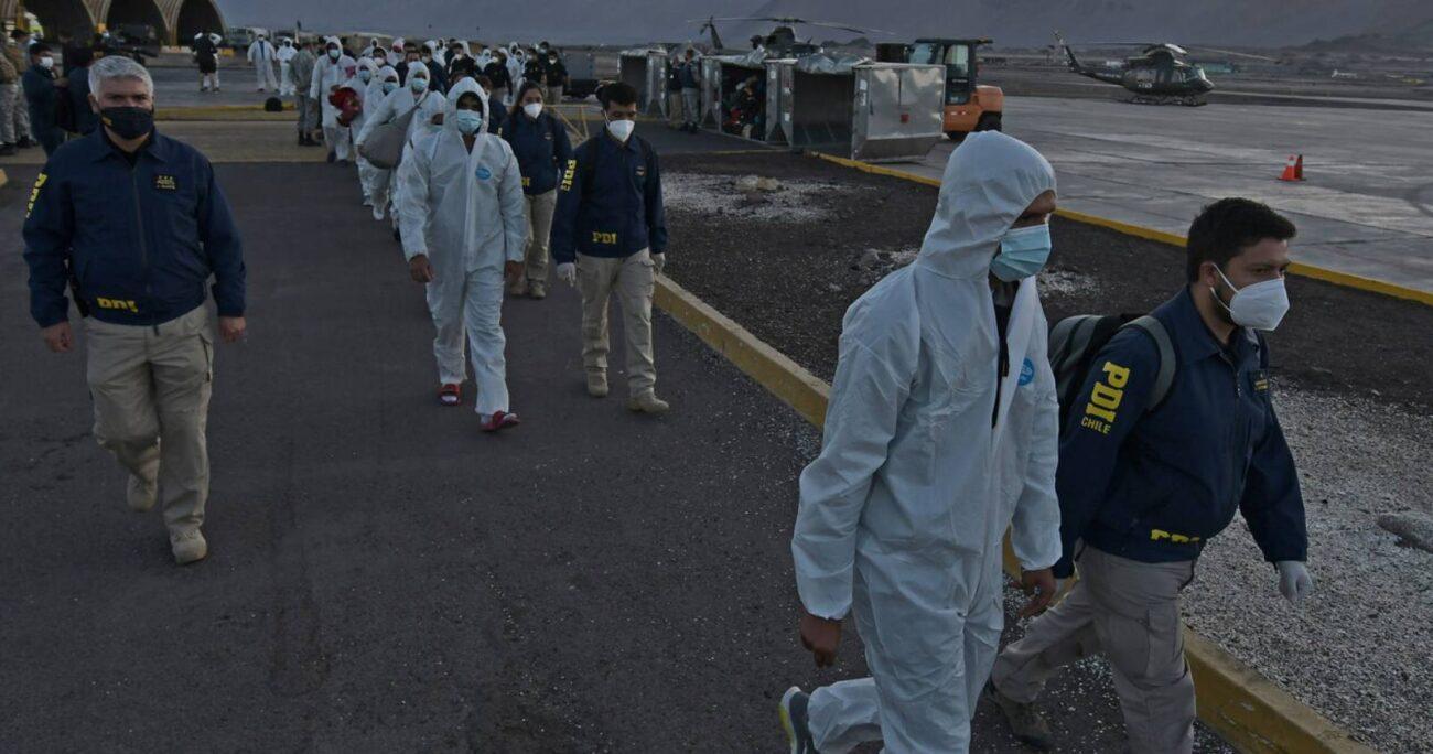 El domingo 25 de abril partió el primer vuelo de ciudadanos extranjeros expulsados. AGENCIA UNO/ARCHIVO