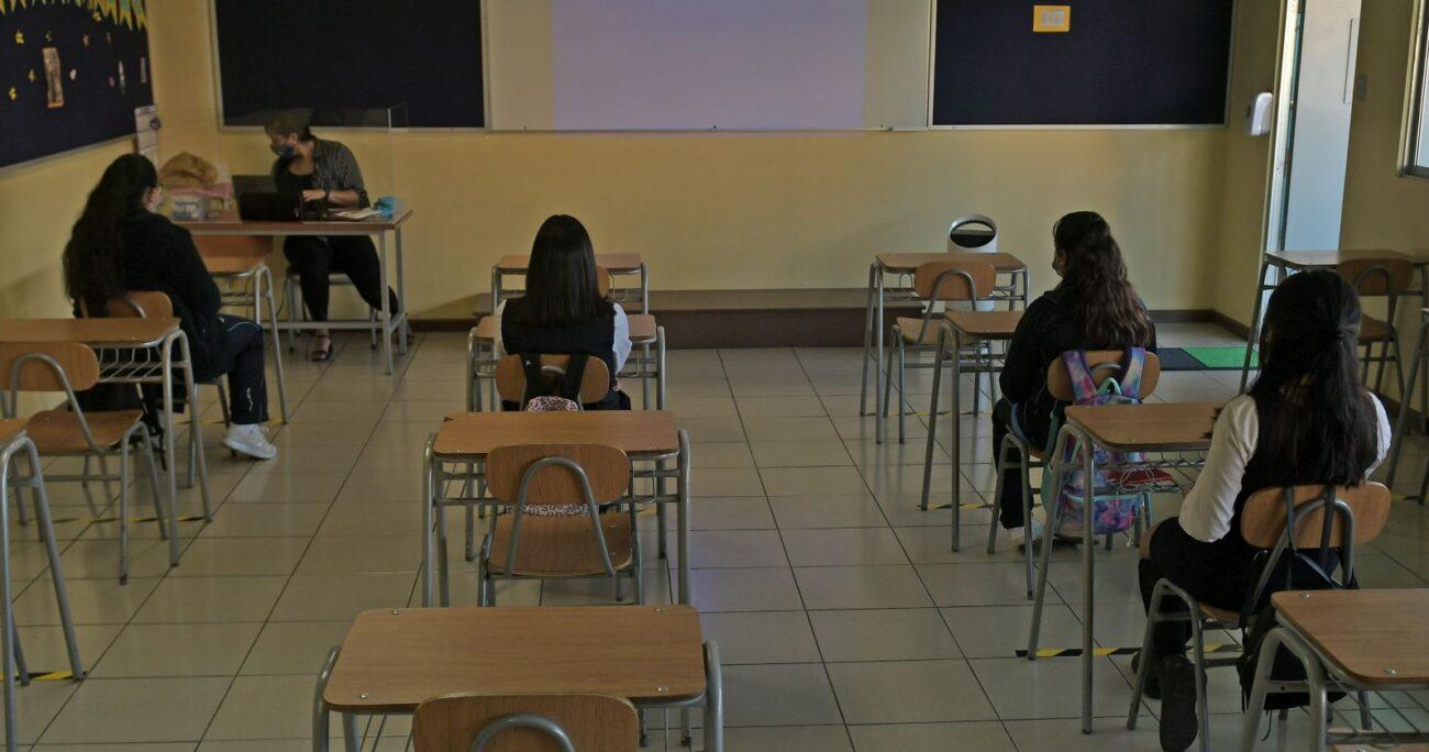 Algunas escuelas reabrieron sus puertas durante el mes de marzo. (Agencia UNO/Archivo)