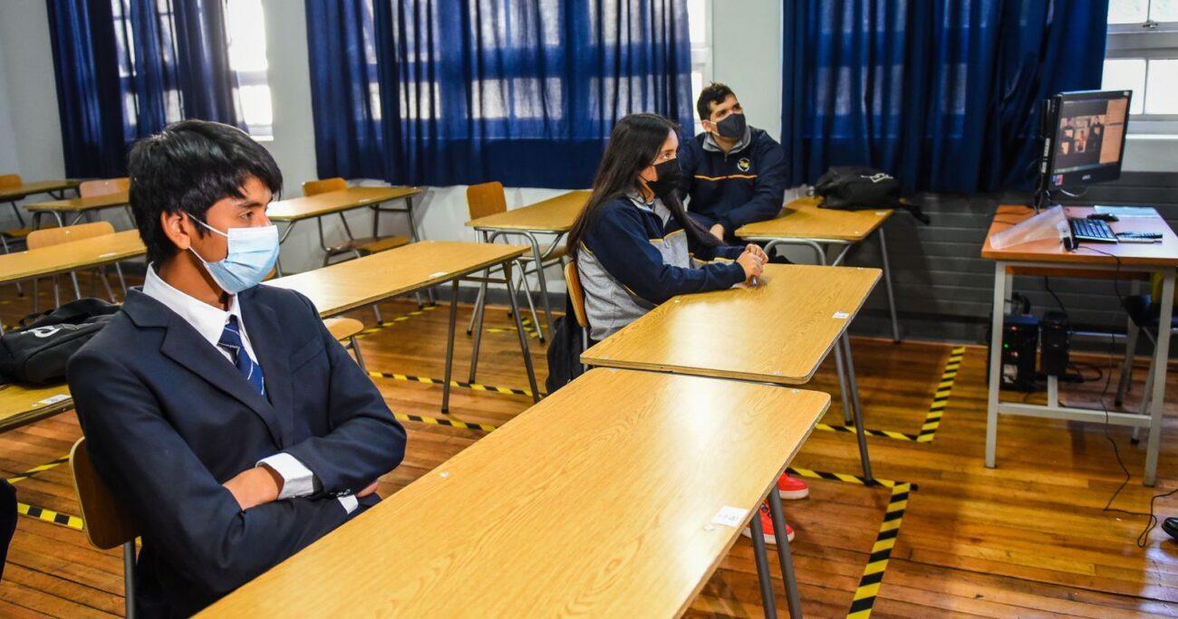 El gremio llamó al Mineduc a dialogar con las comunidades educativas. AGENCIA UNO/ARCHIVO