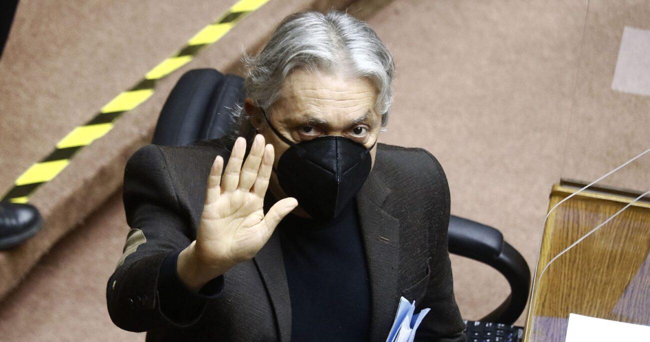 Para los legisladores de Chile Vamos, Navarro no es apto para el cargo por defender a Nicolás Maduro. AGENCIA UNO/ARCHIVO