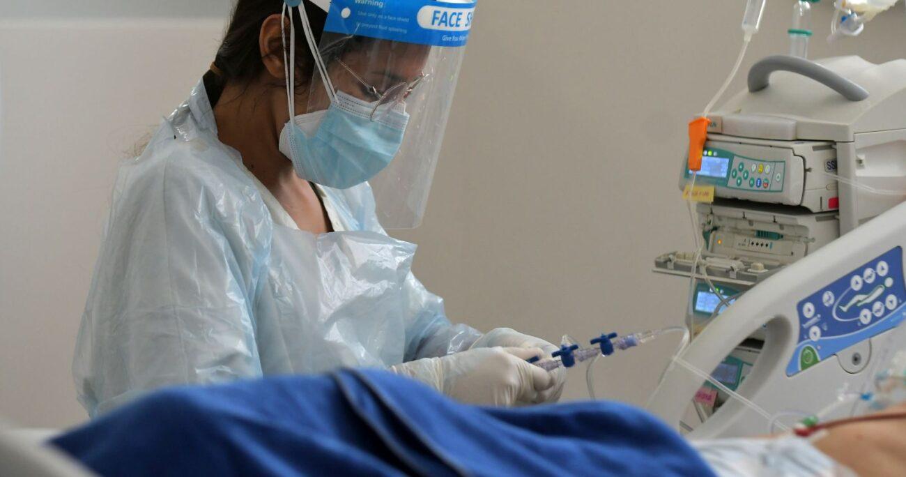A la fecha, 3.213 personas se encuentran hospitalizadas por coronavirus. AGENCIA UNO/ARCHIVO