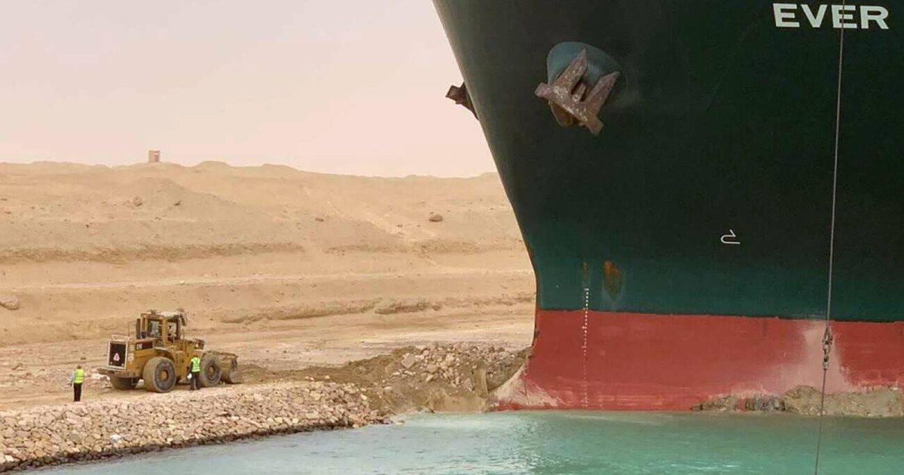 El bloqueo del canal de Suez, una de las principales arterias comerciales a nivel mundial, impidió el tránsito diario de mercancías (Agencia UNO/Archivo).