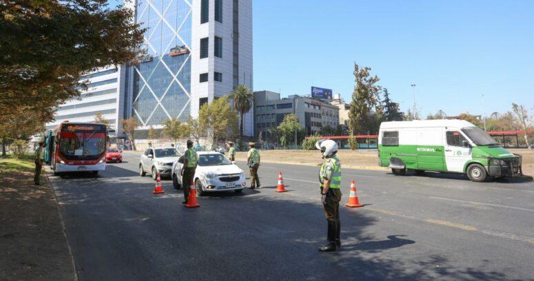 Ministerio de Transportes reportó baja de 64% en la circulación vehicular
