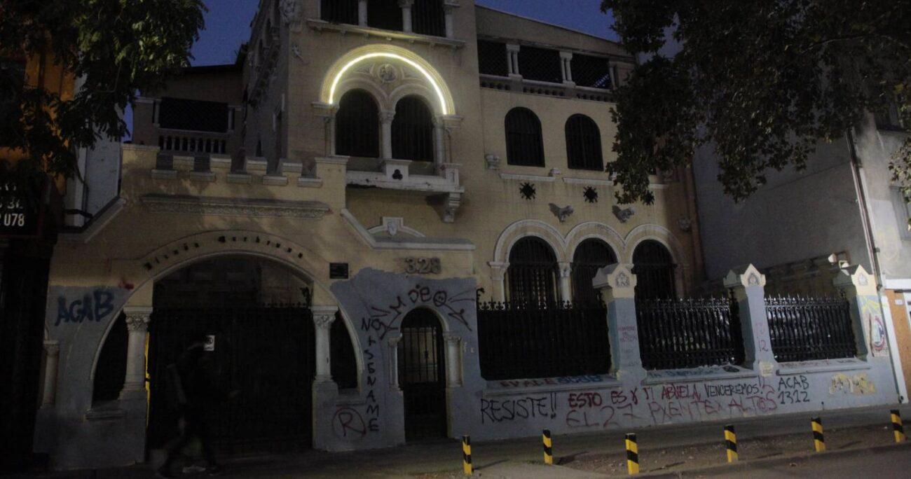 Diez personas fueron detenidas durante la fiscalización al recinto. (Agencia UNO)