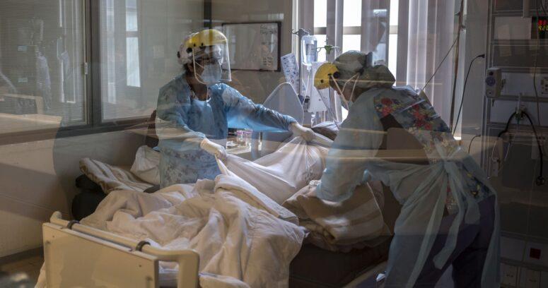 Minsal reportó 6.372 casos nuevos de COVID-19 y ocupación de camas UCI del 97%