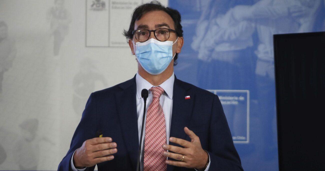 Figueroa nuevamente respondió por las críticas a la apertura de las escuelas. (Agencia UNO/Archivo)