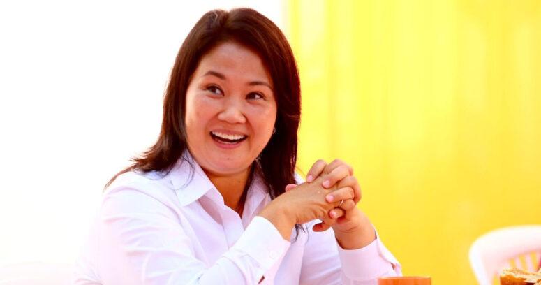 Keiko Fujimori se consolida en segunda posición con más del 87% de actas escrutadas