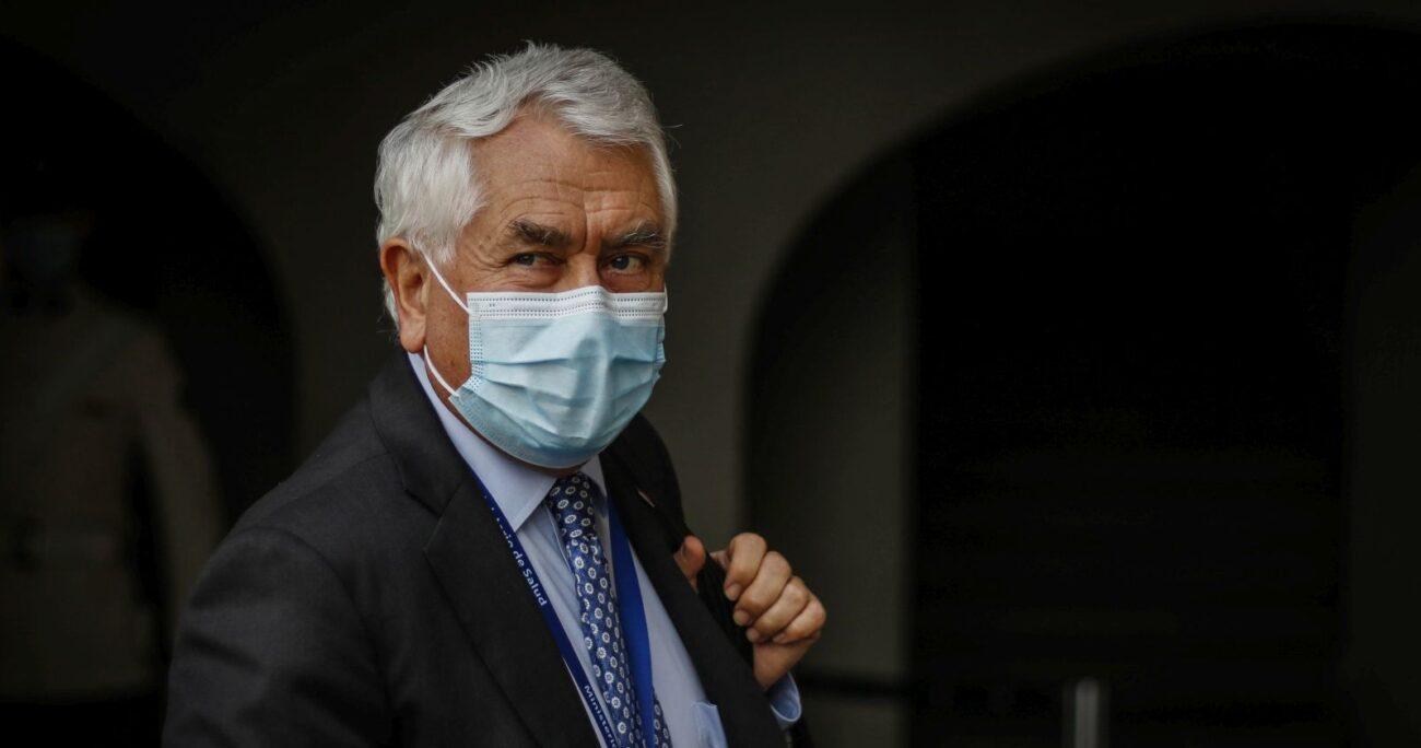 La autoridad abordó el tema durante la entrega del balance diario de la pandemia. AGENCIA UNO.