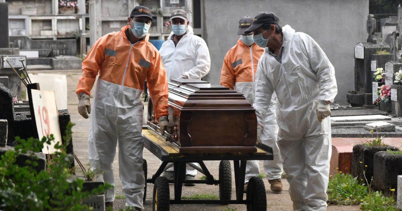 Tres millones de personas han fallecido desde el inicio de la pandemia. AGENCIA UNO/ARCHIVO