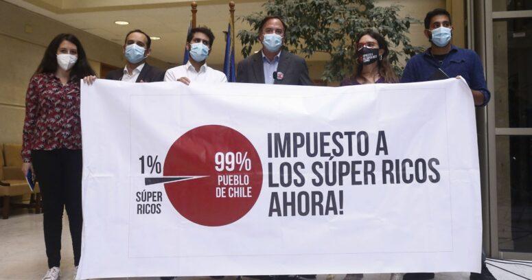 """""""Cámara de Diputados aprueba en general impuesto a los súper ricos con votos de Chile Vamos"""""""