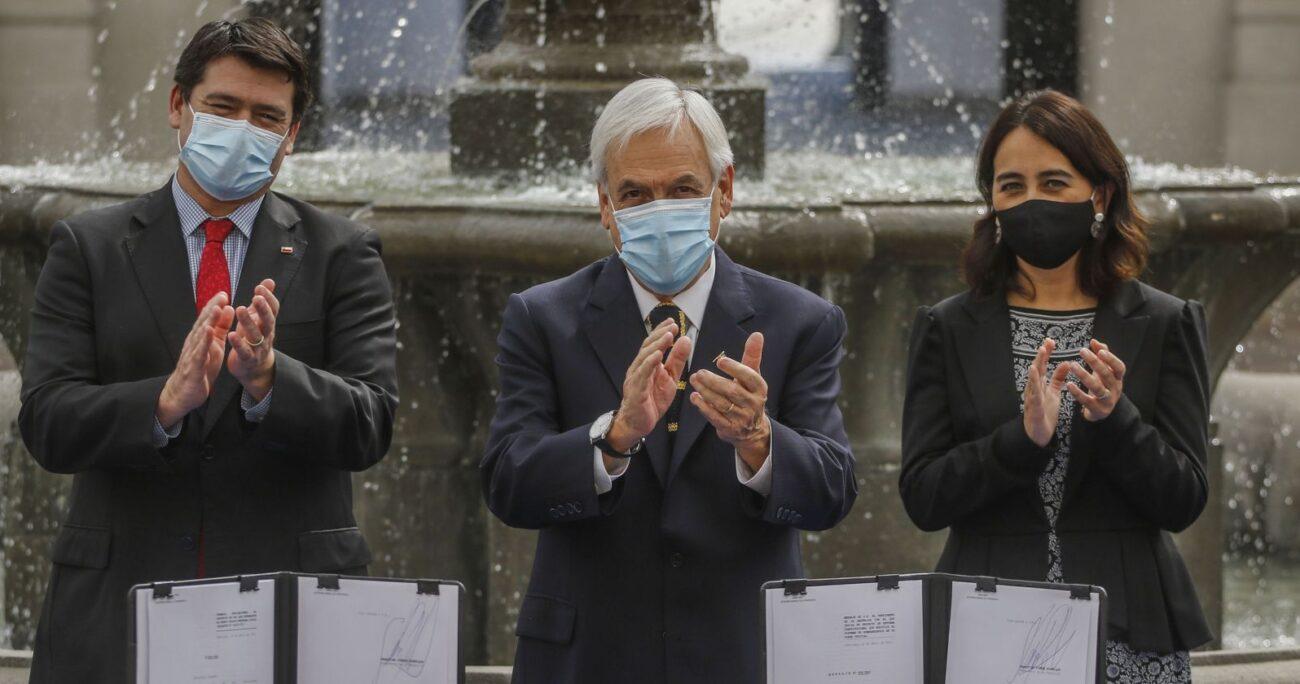 Según Piñera, la gran mayoría de la población recibe beneficios mejores que el tercer retiro desde las AFP. AGENCIA UNO