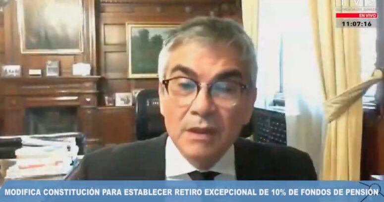 La dura advertencia del presidente de Banco Central sobre retiro en rentas vitalicias