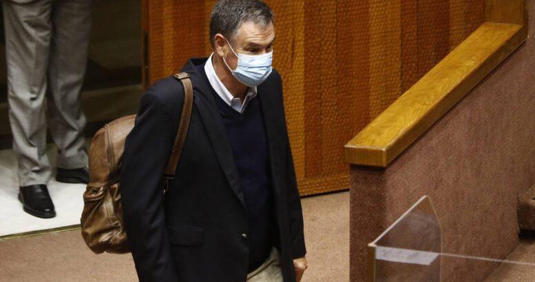 Ossandón llegó al TC por intento de la fiscalía de que se revise desafuero