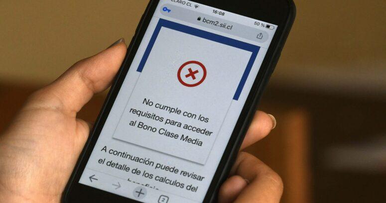 """""""SII explica cómo apelar para entrega de Bono Clase Media"""""""