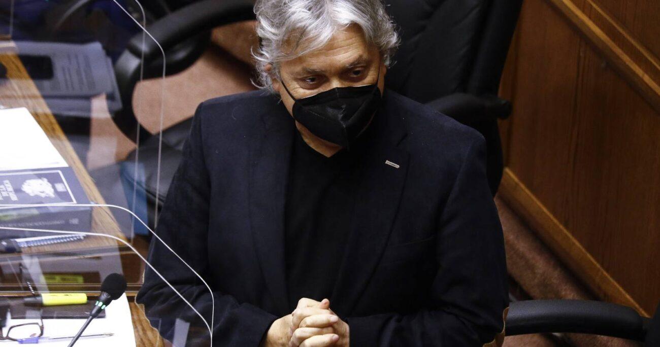 Navarro aseguró que si Piñera veta el proyecto ya hay un preacuerdo en la Cámara de Diputados para aprobarlo. AGENCIA UNO  ARCHIVO