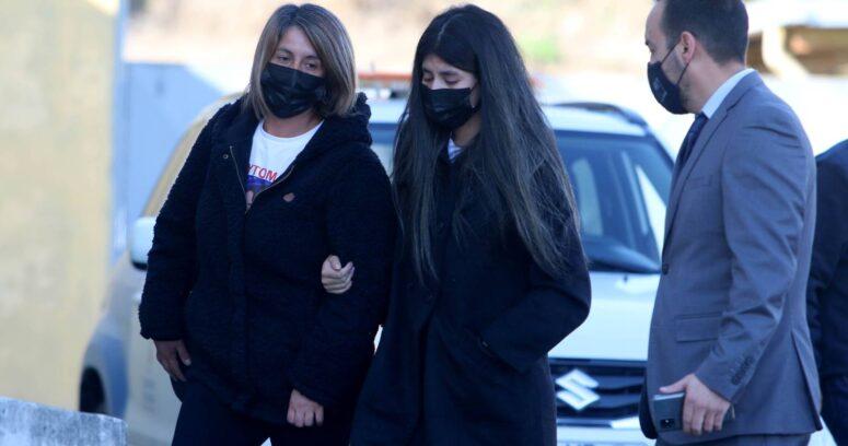 Padres de Tamara Moya y madre de Fernanda Maciel llegaron a Concepción a despedir a Tomás Bravo