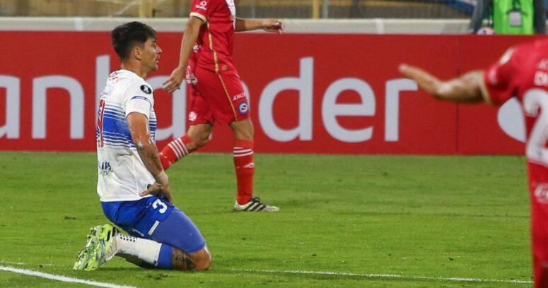 """""""No hay caso: U. Católica suma nueva derrota en Libertadores ante Argentinos Jrs"""""""